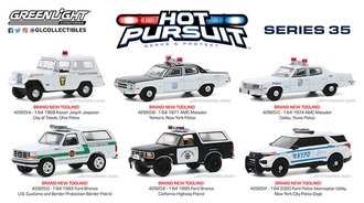 1:64 Hot Pursuit Series 35 (Set of 6)