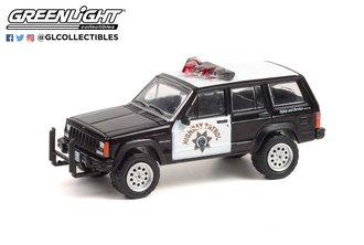 1:64 Hot Pursuit Series 38 - 1993 Jeep Cherokee - California Highway Patrol