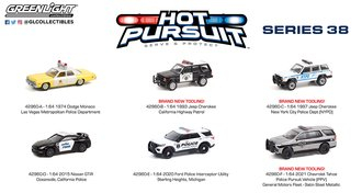 1:64 Hot Pursuit Series 38 (Set of 6)