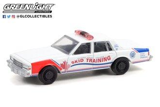 1:64 Hot Pursuit - 1987 Chevy Caprice - Ontario Police College, Ontario, Canada - Skid Training Car