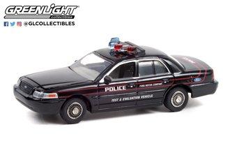 1:64 Hot Pursuit - 2001 Ford CV Police Interceptor Police Prep Package - Test & Evaluation Vehicle