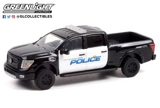 1:64 Hot Pursuit Series 39 - 2018 Nissan Titan XD Pro-4X - City of Oceanside, California Police