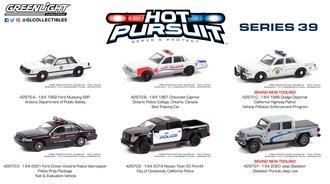1:64 Hot Pursuit Series 39 (Set of 6)