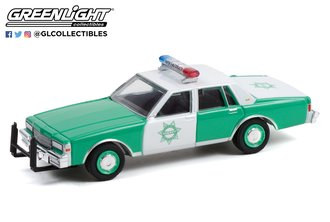 "1:64 Hot Pursuit Series 40 - 1989 Chevrolet Caprice ""San Diego County Volunteer Sheriff"""