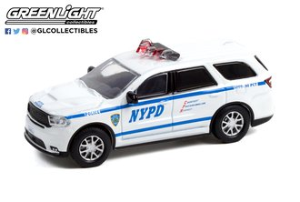 "1:64 Hot Pursuit Series 40 - 2019 Dodge Durango ""New York City Police Dept. (NYPD)"""