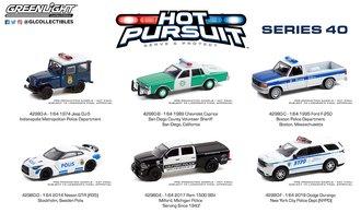 1:64 Hot Pursuit Series 40 (Set of 6)
