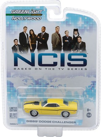 1:64 NCIS (2003-Current TV Series) - Gibb's 1970 Dodge Challenger R/T