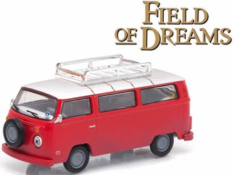 1:64 Hollywood Series 9 - Field of Dreams (1989) - 1973 Volkswagen Type 2 (T2B) Bus