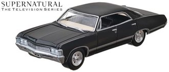 1:64 Hollywood - Supernatural (2005-Current TV Series) - 1967 Chevrolet Impala Sedan