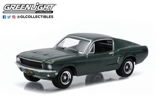 1:64 1968 Ford Mustang GT Fastback (Highland Green)