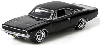 "1:64 Hollywood - 1968 Dodge Charger R/T ""Bullitt"""
