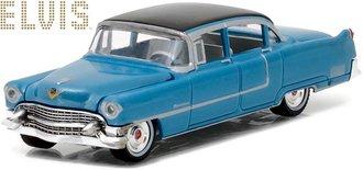 "1:64 Elvis Presley (1935-77) - 1955 Cadillac Fleetwood Series 60 ""Blue Cadillac"""