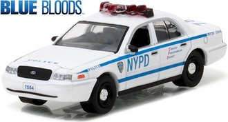 1:64 Blue Bloods (2010 - Current TV Series) 2001 Ford Crown Victoria Police Interceptor (NYPD)