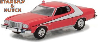 1:64 Hollywood Series 18 - Starsky and Hutch (TV Series 1975-79) - 1976 Ford Gran Torino