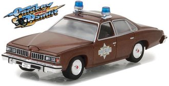 1:64 Hollywood Series 18 - Smokey and the Bandit (1977) - Sheriff Buford T. Justice's 1977 Pontiac