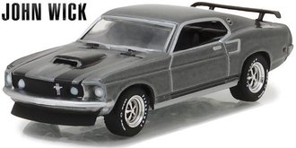 1:64 Hollywood Series 18 - John Wick (2014) - 1969 Ford Mustang BOSS 429