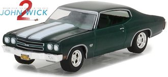 1:64 Hollywood Series 18 - John Wick: Chapter 2 (2017) - 1970 Chevrolet Chevelle SS 396