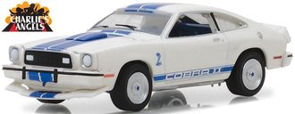 1:64 Hollywood Series 19 - Charlie's Angels (1976-81 TV Series) - 1976 Ford Mustang Cobra II