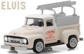 "1:64 Elvis Presley (1935-77) - 1954 Ford F-100 Truck ""Crown Electric Company"""