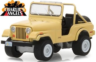 1:64 Charlie's Angels (1976-81 TV Series) - Jeep CJ-5