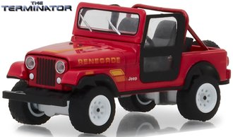 1:64 Hollywood Series 21 - The Terminator (1984) - Sarah Connor's 1983 Jeep CJ-7 Renegade