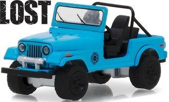 "1:64 Hollywood Series 21 - Lost (2004-10 TV Series) - 1977 Jeep CJ-7 ""Dharma"" Jeep"