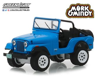 1:64 Hollywood Series 23 - Mork & Mindy (1978-82 TV Series) - 1972 Jeep CJ-5