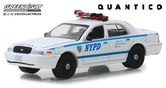 "1:64 Hollywood Series 23 - Quantico (2015-18 TV Series) - 2003 Ford Crown Victoria PI ""NYPD"""