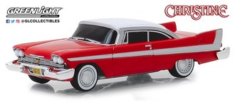 1:64 Hollywood Series 24 - Christine - 1958 Plymouth (Evil Version w/Blacked Out Windows)
