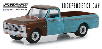 1:64 Hollywood Series 24 - Independence Day (1996) - 1971 Chevrolet C-10 Pickup