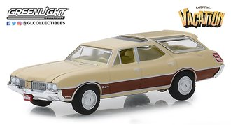 1:64 Hollywood Series 24 - National Lampoon's Vacation (1983) - 1970 Oldsmobile Vista Cruiser
