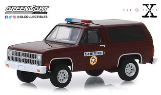 "1:64 Hollywood Series 25 - The X-Files (1993-2002 TV Series) 1981 Chevrolet K-5 Blazer ""Sheriff"""