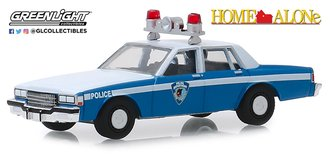 """1:64 Hollywood Series 25 - Home Alone (1990) 1986 Chevrolet Caprice """"Wilmette Illinois Police"""""""