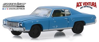 1:64 Hollywood Series 25 - Ace Ventura: Pet Detective (1994) 1972 Chevrolet Monte Carlo