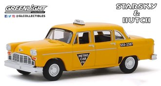 1:64 Starsky and Hutch (TV Series) - 1968 Checker Taxi - Metro Cab Co