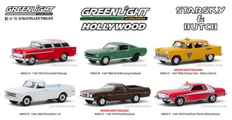 1:64 Starsky and Hutch (TV Series 1975-79) (Set of 6)