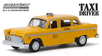 1:64 Hollywood Series 26 - Taxi Driver (1976) - Travis Bickle's 1975 Checker Taxicab