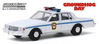1:64 Hollywood Series 26 - Groundhog Day (1993) - 1980 Chevrolet Caprice Police