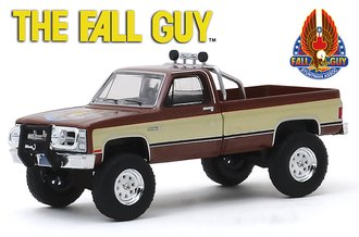 1:64 Hollywood Series 26 - Fall Guy Stuntman Association - 1982 GMC K-2500 Sierra Grande Wideside