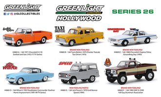 1:64 Hollywood Series 26 (Set of 6)