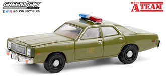 "1:64 Hollywood Special Edition ""The A-Team (TV Series)"" 1977 Plymouth Fury ""U.S. Army Police"""