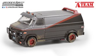 "1:64 Hollywood Special Edition ""The A-Team (1983-87 TV Series)"" 1983 GMC Vandura (Weathered Version)"