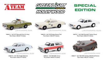 "1:64 Hollywood Special Edition ""The A-Team (1983-87 TV Series)"" (Set of 6)"