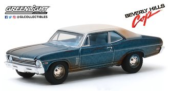 1:64 Hollywood Series 27 - Beverly Hills Cop (1984) - 1970 Chevrolet Nova