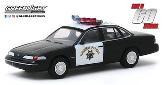 """1:64 Hollywood Series 27 - Gone in 60 Seconds (2000) 1992 Ford Crown Victoria """"California HP"""""""