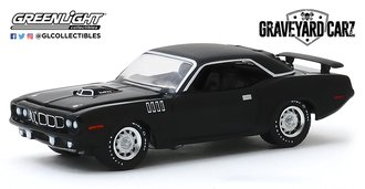 1:64 Hollywood Series 27 - Graveyard Carz (2012-Current TV Series) - 1971 Plymouth 'Cuda 340