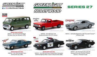 1:64 Hollywood Series 27 (Set of 6)