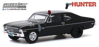 1:64 Hollywood Series 28 - Hunter (1984-91 TV Series) - 1969 Chevrolet Nova Police