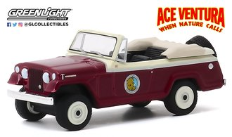 1:64 Hollywood Series 28 - Ace Ventura: When Nature Calls (1995) - 1967 Jeep Jeepster Convertible