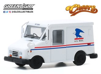1:64 Hollywood Series 29 - Cheers (1982-93 TV Series) Cliff Clavin's U.S. Mail LLV Postal Vehicle